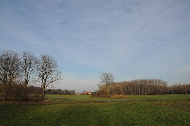 """""""Warften"""" auf dem Feld"""