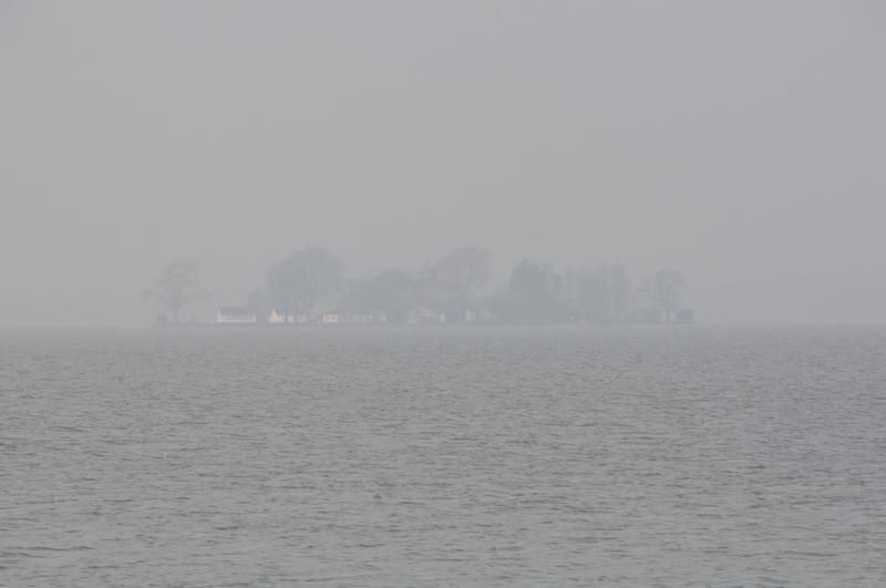 Wilhelmstein im Nebel