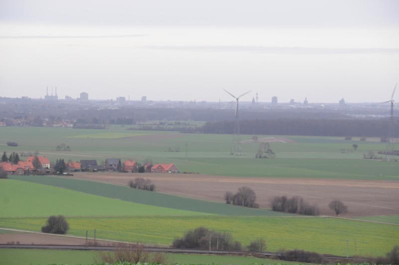 diesiger Blick über Hannover